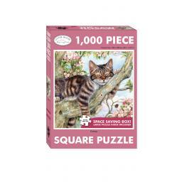 Square Jigsaw - Catnap