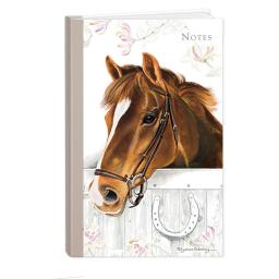 Pollyanna Pickering Stationery - Hardcover Notebook (A5 - Horse)