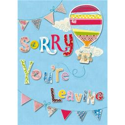 Sorry Card - Sorry Leaving Card (Leaving Card)