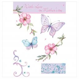 Mother's Day Card - Butterflies