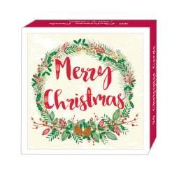 Assorted Christmas Cards - Festive Foliage