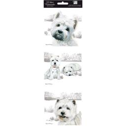 Hanging Notecard Pack - Westies