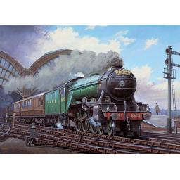 Rectangular Jigsaw - Flying Scotsman