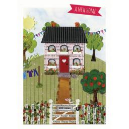 New Home Card - House & Garden (Moved In Together)