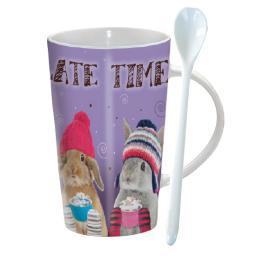 Chocolatte Mug - Chocolate Bunnies