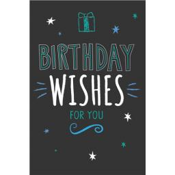 Dinkies Mini Card - Birthday Wishes