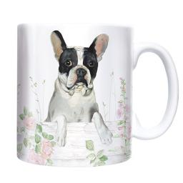 Straight Sided Mug - French Bulldog
