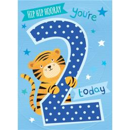 Magic Numbers Card - Baby Tiger (Age 2)