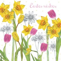 Easter Card Pack - Daffodils & Tulips