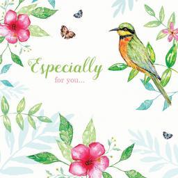 Summer Shimmer Card - Tropicana