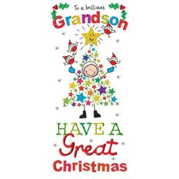 Christmas Card (Single) - Grandson