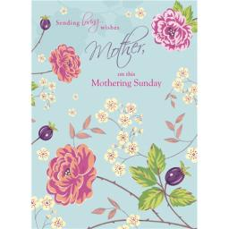 Mother's Day Card - Pretty Flowers