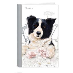 Pollyanna Pickering Stationery - Hardcover Notebook (A5 - Border Collie)