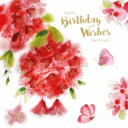Birthday Treats Card Collection - Rhododendron