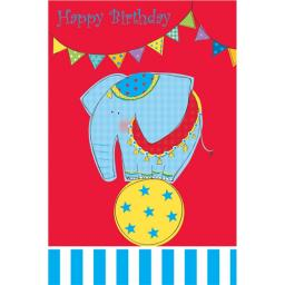 Sugar & Mice Card - Elephant