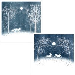 Luxury Christmas Card Pack - Festive Forest