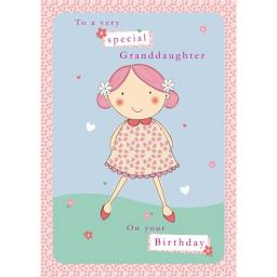 Family Circle Card - Granddaughter