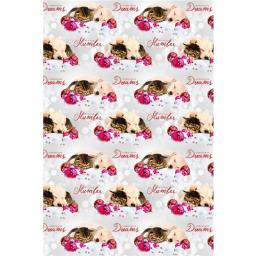Christmas Wrap & Tags - Sleepy Buddies & Baubles