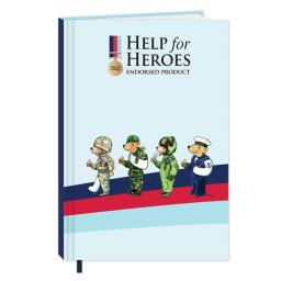 Help For Heroes Stationery - Hardcover Notebook (A6)