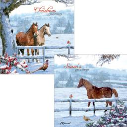 Luxury Christmas Card Pack - Christmas Friends