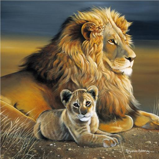 Pollyanna Pickering Collection - Lion & Cub