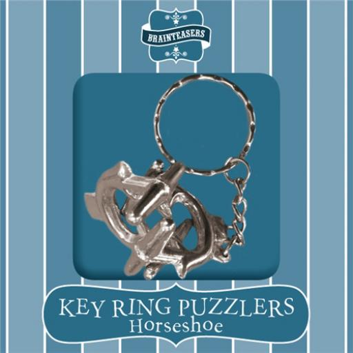 Brainteasers - Key ring Puzzle - Horseshoe (Easy)