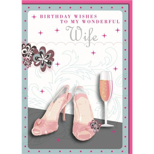 Family Circle Card - Wonderful Wife