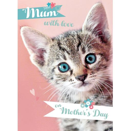 Mother's Day Card - Kitten