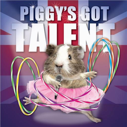 Crazy Crew Card - Piggy's Got Talent (Birthday)