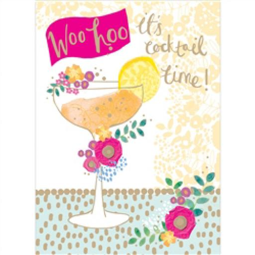 Rose Gold Card - Happy Hour!
