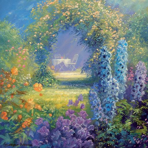 Quayside Gallery Card Collection - Summer Garden
