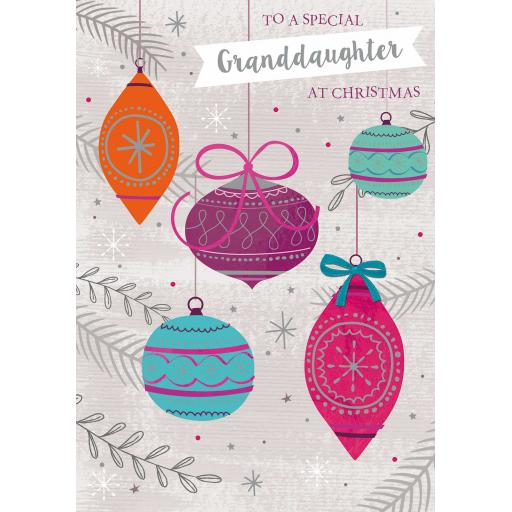 Christmas Card (Single) - Granddaughter