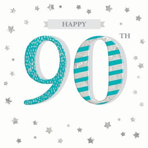 Age To Celebrate Card - 90