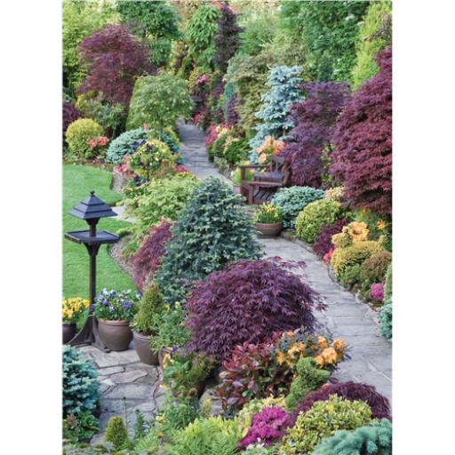 Beautiful Blanks Card - Path Through Garden
