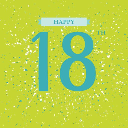 Age To Celebrate Card - 18