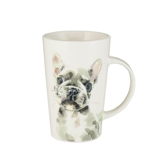 Latte Mug - French Bulldog