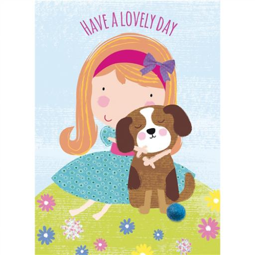 Hip Hip Hooray Card - Cuddle With Coco