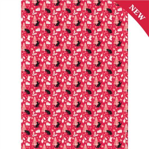 Christmas Wrap & Tags - Christmas Cats