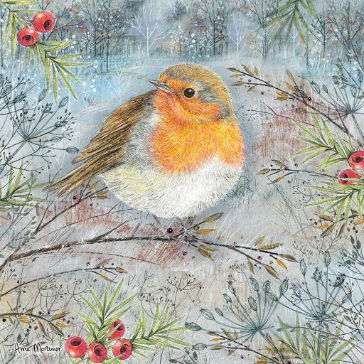 Square Jigsaw - Midnight Robin