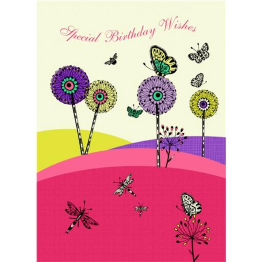 Marie Curie Card (Range 1) - Butterfly Meadow
