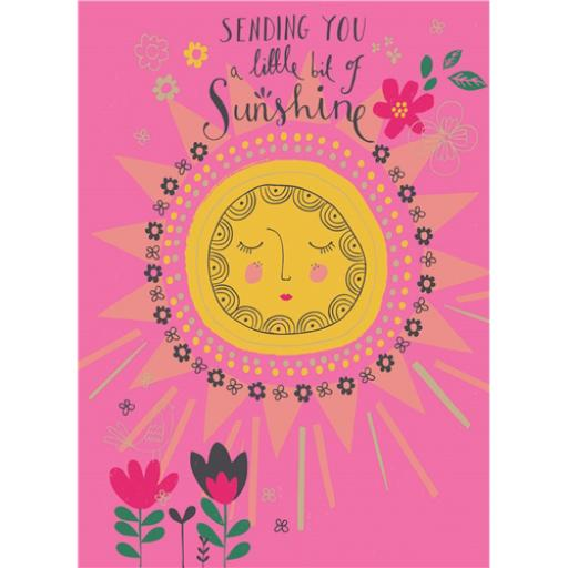 Marie Curie Card (Range 2) - Little Bit Of Sunshine