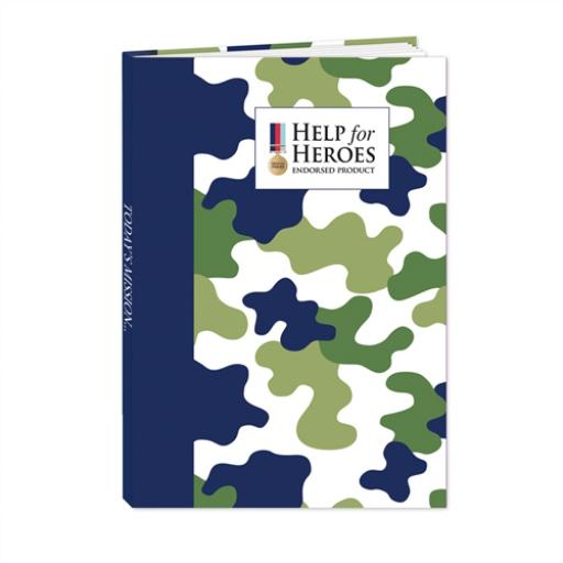 Help For Heroes Stationery - Hardcover Notebook (A5)