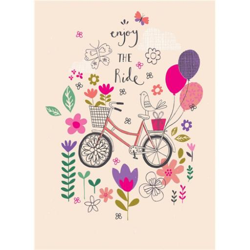Marie Curie Card (Range 2) - Bike Ride