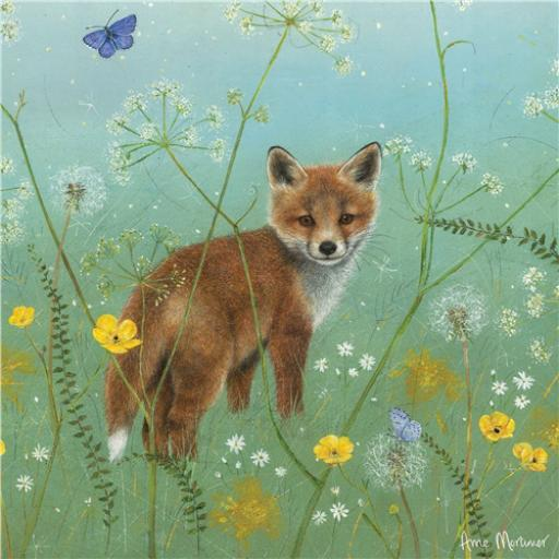 Enchanted Wildlife Card - Fox