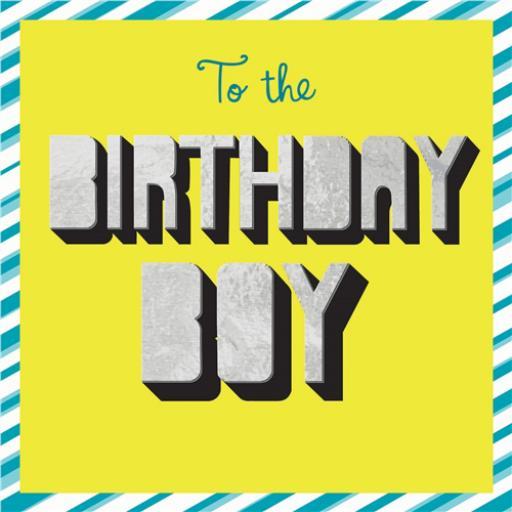 Superstar Card Collection - Birthday Boy