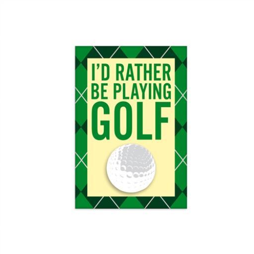 Fridge Magnet - Golf
