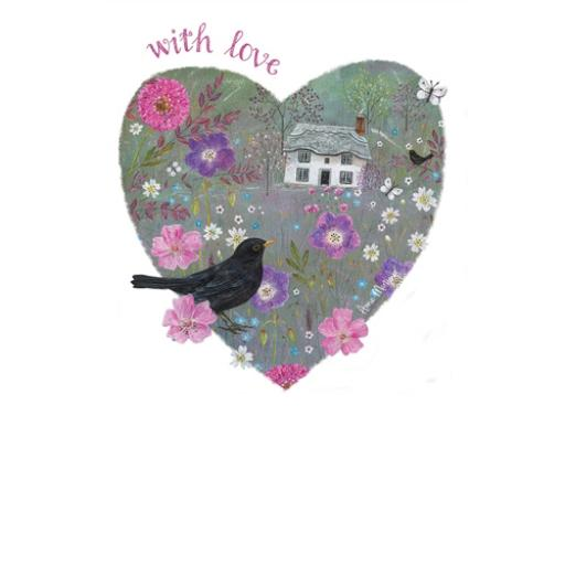 Dinkies Mini Card - Floral Cottage