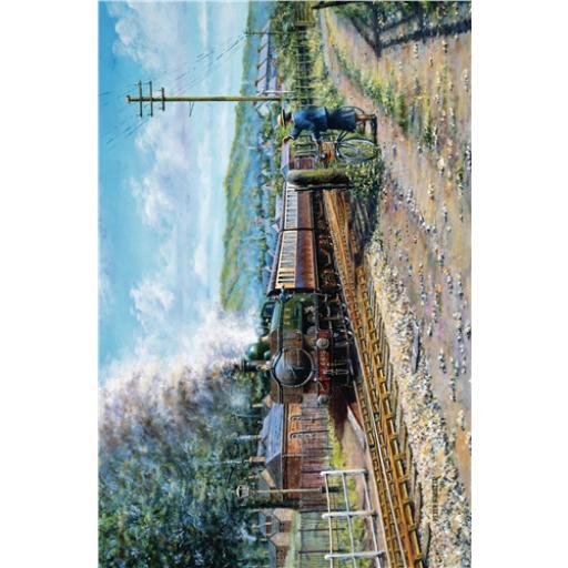 Artists Loft Card - Train Passing By