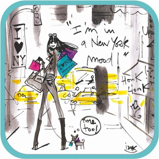 Izak Card -The New York Mood