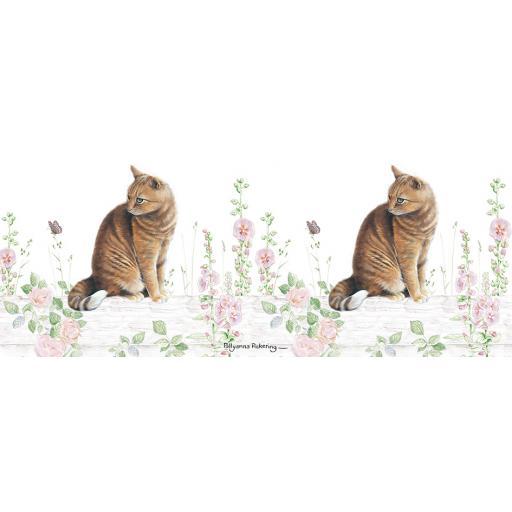 Straight Sided Mug - Ginger Cat